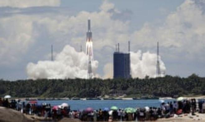 Миссия Tianwen-1: Китай запускает космическую ракету на Марс