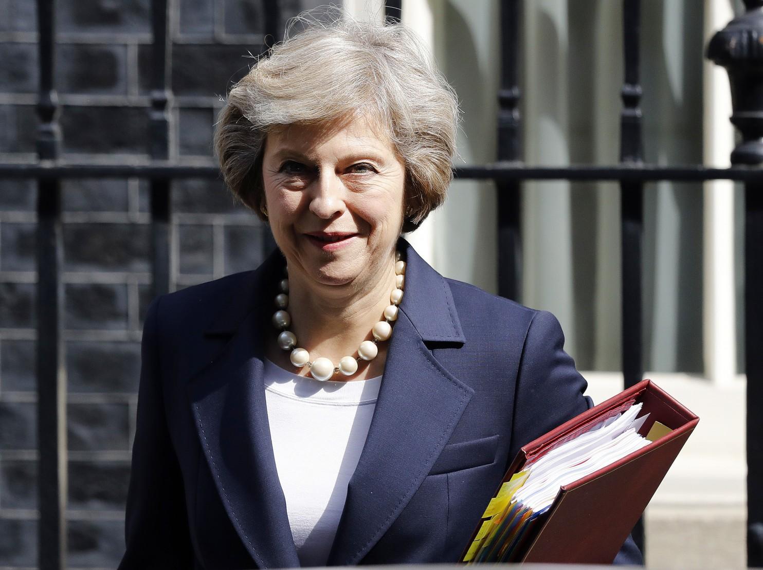 премьер - министр Тереза Мэй