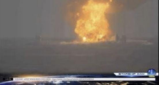 Прототип SpaceX взорвался на полигоне в Техасе